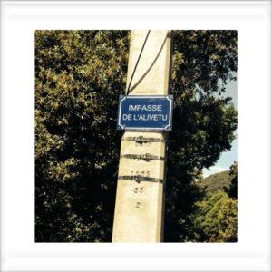 plaque de rue en plexi personnalisé fsp