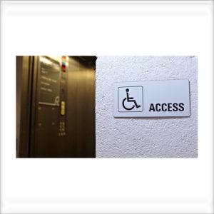 pictogramme plaque handicapé
